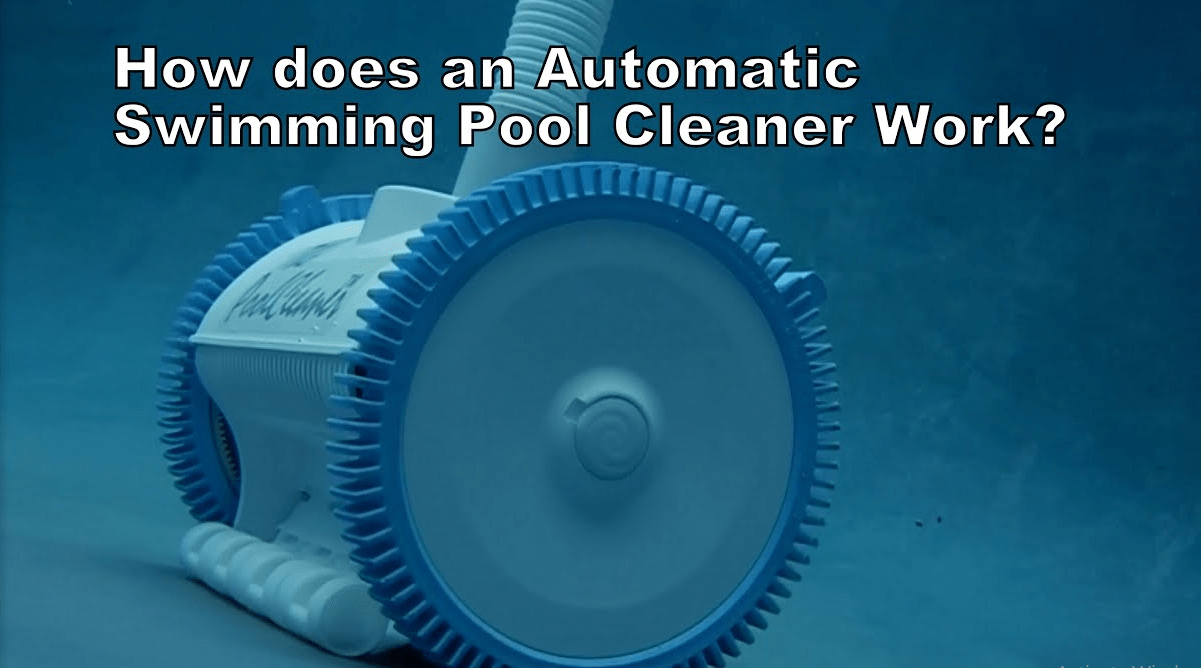 how do robotic pool cleaners work