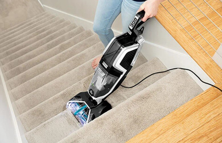 How to Clean Carpet on Stairs?