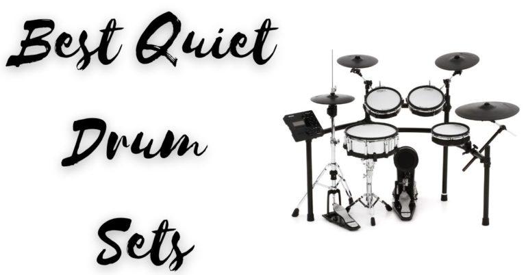 Best Quiet Drum Sets