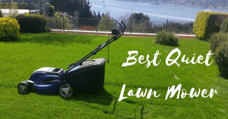 best quiet lawn mower